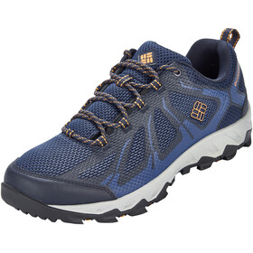 Columbia Peakfreak XCRSN II XCEL Low Shoes Men Collegiate Navy/Orange Blast